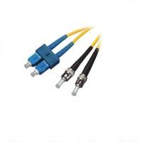 FO Patch Cord SC / PC-ST / PC SM 9/125 Duplex con Clip 2M