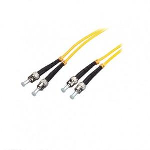Cable de conexión FO ST / PC-ST / PC SM 9/125 Duplex 2M
