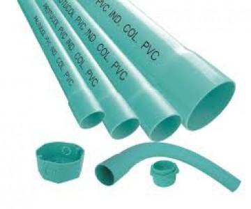 Tubería PVC semipesada y pesada desde 1/2 a 4 pulgadas
