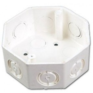 Caja PVC Octagonal
